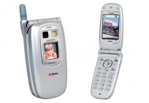 Sanyo Sprint SCP-5300, el primer boom en celulares con cámara
