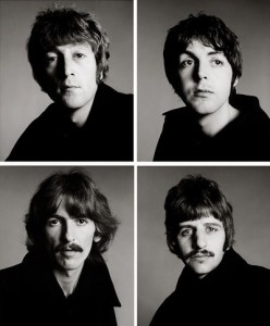 the Beatles - Richard Avedon